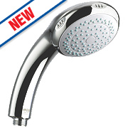 Mira Logic Hand Shower Flexible Chrome 90 x 80mm
