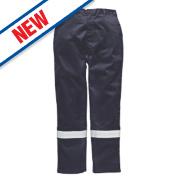 Dickies FR5300 Pyrovatex Trousers Navy 34