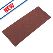 Flexovit Sanding Sheets Aluminium Oxide 185 x 93mm 60 Grit Pack of 5