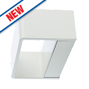 Luceco LED Wall Light White 290Lm 10W