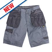 """Site Hound Multi-Pocket Shorts Grey 32"""" W"""