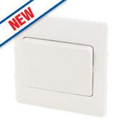Schneider Electric 1-Gang 2-Way 16AX Light Switch White