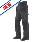 Lee Cooper Holster Trousers Grey/Black 32