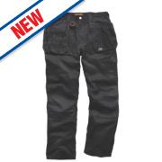 Scruffs Worker Plus Work Trousers Black 30