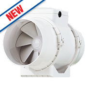 Xpelair XIMX100 33W In-Line Mixed Flow Extractor Fan