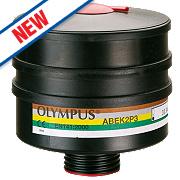 JSP Force 12 DIN Thread Filter Cannisters ABEK2P3 Pack of 2