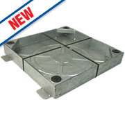 FloPlast FloDrain Square/Round Block Paving Cover 450mm