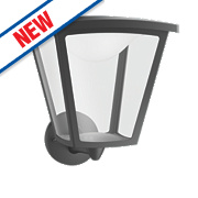 Philips Cottage 4.5W Black LED Wall Lantern 430Lm