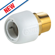 Hep2O HX29/22WS Adapt Brass Male Socket ¾