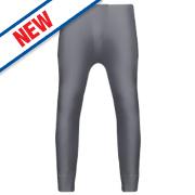 Workforce Thermal Baselayer Trousers Grey Medium 33-35
