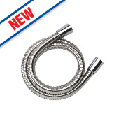 Mira Logic Shower Hose Chrome 20mm x 1.75m
