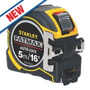 Stanley FatMax Auto-Lock Tape Measure 5m