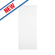 Slab Kitchens Handleless 300 Base/Wall Door White Gloss 715 x 297mm