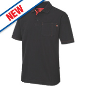 "Lee Cooper Polo Shirt Black X Large "" Chest"