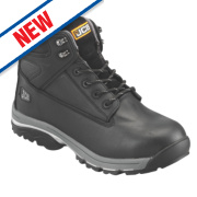 JCB Fast Track Safety Boots Black Size 8