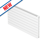 Moretti Modena Double Panel Horizontal Radiator White 578 x 1000mm