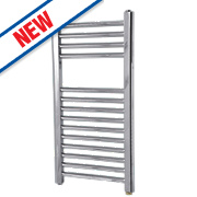Flomasta Flat Electric Towel Radiator Chrome 700 x 400mm 182W 623Btu