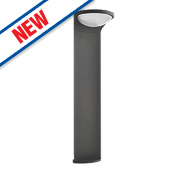 Philips Dust Anthracite LED Post Light 215Lm 1.5W