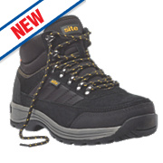 Site Jasper Hiker Safety Boots Black Size 12