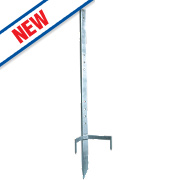 Wolseley Electric Fence Corner Post Steel 1.2m