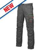 "UPower Smile Trousers Carbon Black 32-34"" W 31"" L"