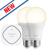 WeMo Wi-Fi LED Lighting Starter Set 9.5W ES