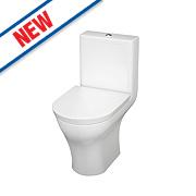 Boston Close Coupled Toilet Dual Flush 4/6Ltr