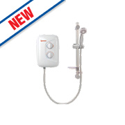 Redring Dash Plus Electric Shower White 8.5kW