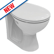 Armitage Shanks Sandringham 21 Back-to-Wall Pan Dual Flush