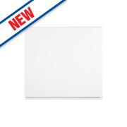 White Kitchens Gloss Handleless 600 Appliance Door 596 x 590mm