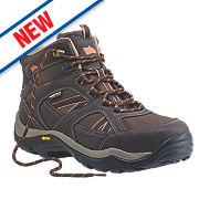 Hyena Ravine Waterproof Safety Boots Brown Size 9