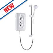 Mira Jump Electric Shower White / Chrome 8.5kW