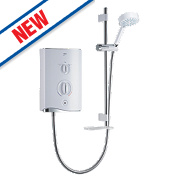 Mira Sport Manual Electric Shower White/Chrome 9kW