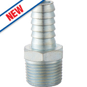 PCL Male Hose Tail Adaptor ¼ x 3/8""