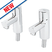 Grohe Feel Basin Pillar Taps Pair