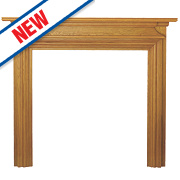 Focal Point Charlottesville Fire Surround Oak Veneer