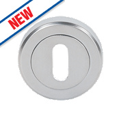 Smith & Locke Contemporary Escutcheon Satin Chrome 50mm