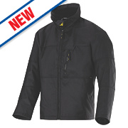 "Snickers Winter Jacket Black Small "" Chest"