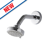 Aqualisa Fixed Shower Head Chrome 105 x 45mm