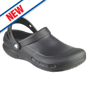Crocs Bistro Non-Safety Work Shoes Black Size 8