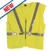 Fhoss Contego Illuminated Hi-Vis Vest Yellow XX Lge / XXX Lge 54-58