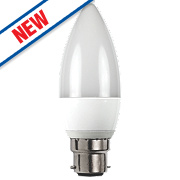 LAP Candle LED Lamp White BC 6W