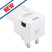 Edimax N300+ Concurrent Dual Band Wi-Fi Range Extender