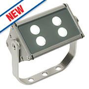 Saxby Gleam LED Floodlight 8W Silver