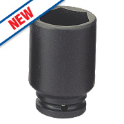 "Teng Tools 1"" Thin Wall Impact Socket 30mm"