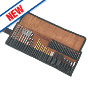 Erbauer Combination Bit Set 80 Pieces