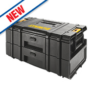 DeWalt ToughSystem 2-Drawer Storage Unit