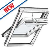 Velux Integra Solar Roof Window Centre-Pivot Noise Reduction Clear 780 x 1400mm