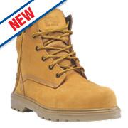Timberland Pro Hero Safety Boots Wheat Size 9