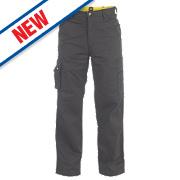 """CAT C171 Task Trousers Black 32"""" W 32"""" L"""